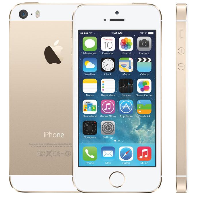 Apple(アップル) iPhone5s SIMフリー スマートフォン Model:A1453 Gold ゴールド 32GB アップル正規整備済品 国内版 FJ7T2J/A
