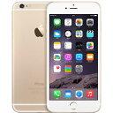 アップル iPhone 6 SIMフリー 64GB 整備済品 ゴールド 国内モデル