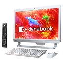 【新品アウトレット】東芝 dynabook D51/RW ホワイト(PD51RWP-SHA) Windows8.1/21.5インチフルHD IPS/Celero...