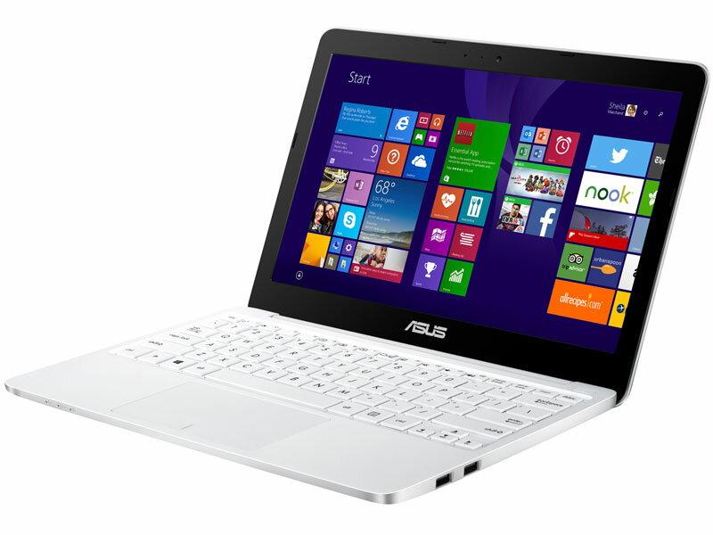 ASUS X205TA (X205TA-B-WHITE) ノートパソコン/Windows8.1/11.6インチ/ATOM/メモリ2GB/HDD64GB/無線/WEBカメラ