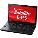 東芝 dynabook Satellite B453/M(PB45ANAD4RDAD81) ノートパソコン/Windows7Pro/Celeron/15.6インチ/メモリ4GB/HDD500GB/DVDマルチ/無線LAN