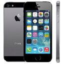 【期間限定 ポイント最大30倍!】アップル iPhone 5s SIMフリー 版 32GB 整備済品 スペースグレー
