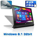 lenovo(���m�{) YOGA Tablet 2-8 with Windows �^�u���b�g/Windows8.1/8�C���`�^�b�`�p�l��/Atom/32GB/����/Web�J����/AnyPen