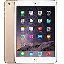 【SIMロック解除済み】アップル iPad mini3 A1600 16GB ゴールド ( MGYR2J/A ) 【厳選中古】 タブレット Wi Fi セルラー LTE 本体 Apple