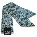 Blubandoo neck cooling scarf Coolmax scarf Cooling Neckwear【I】BabyBluePaisley design prints Neck Wrap 冷却 クールスカーフ 首..