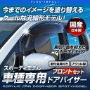 エルグランド E52系対応 フロント用 ドアバイザー スポーティモデル【車種専用設計】 日本製 アクリル製ドアバイザー ニッサン〔SP-85〕【メーカー取寄品】【代引き不可】