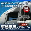 エルグランド E52系対応 リア用 ドアバイザー スポーティモデル【車種専用設計】 日本製 アクリル製ドアバイザー ニッサン〔OXR-215〕【メーカー取寄品】【代引き不可】