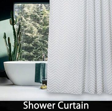 シャワーカーテン バスカーテン【送料無料】間仕切り ホワイト グレー 防カビ bath-sc0021