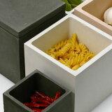soil フードコンテナ スクエア M(ソイル food container square/キャニスター/コンテナー/保存容器/珪藻土/調湿/はなまるマーケットで紹介)