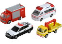 トミカ 緊急車両セット5 タカラトミー おもちゃ プレゼント