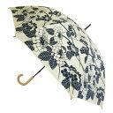 【送料無料】晴雨兼用UVコーティング傘 UV百花涼藍 JK-97 紫陽花 サントス かさ カサ 日傘 母の日