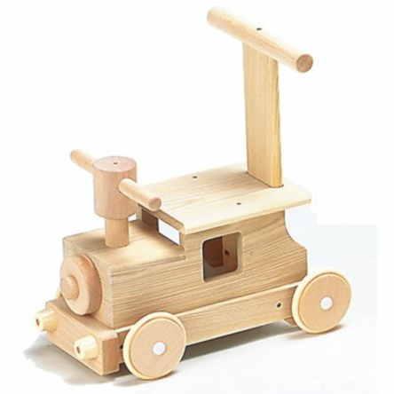 送料無料森の汽車ポッポW-027日本製MOCCOの森シリーズ木のおもちゃ平和工業知育玩具乗用