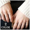 指輪 リング ゴールドカラー シルバー925 8サイズ シン...