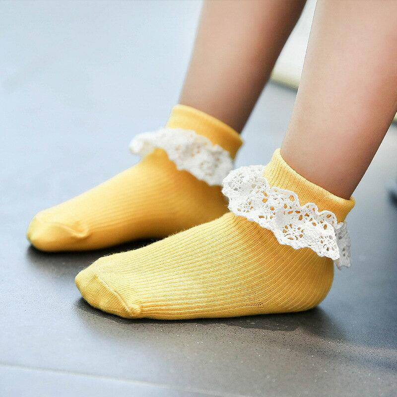 靴下ソックスベビーキッズレースショート女の子ベビーソックスキッズソックスベビー靴下キッズ靴下子供靴下