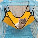 楽天Plus Naoペット用 ハンモック ハウス ベッド 吊り下げ フック付き 猫 キャット 猫専用 室内 ワンサイズ ペット用品 寝床 ペットハウス リラックス 可愛い おしゃれ