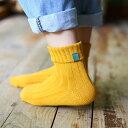 送料無料靴下 ソックス クルーソックス タグ付き シンプル 無地 レディース カジュアルスタイル 下着 インナー