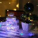 送料無料イルミネーションライト LEDライト 防水 クリスマス ハロウィン 1m 2m 3m デコレーション 飾り付け 電飾 電池式 パーティー イベント インテリア 室外用 室内用 屋外用 屋内用 庭 装飾 ロープライト ワイヤーライト ハロウィーン