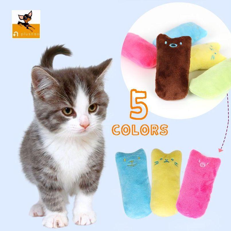 送料無料ペット用猫用ぬいぐるみ音が鳴る音が出る人形おもちゃトイオモチャトーイストレス解消運動不足解消