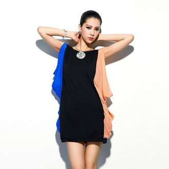 Clearance sale! I am going to ship it on order about August 27 reshuffling drape no sleeve Mini One peace tunic ◎ today
