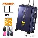 BRANIFF ブラニフ スーツケース FRAME 68cm 容量:87L / 重量:5.6kg プラスワン トランク キャリケース 修学旅行【787-68】LLサイズ