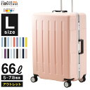 【アウトレット】【50%OFF】プラスワン スーツケース A...