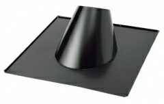 黒 ステンレス フラッシング 15-30度 直径150mm用 198001 煙突 部材 ホンマ製作所 T野D T野 D