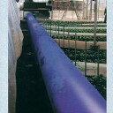 クロスラムダクト ビニールハウス用温風ダクト 折径90cm×50m 厚0.14mm 極厚 高耐久 長寿命 ブルー