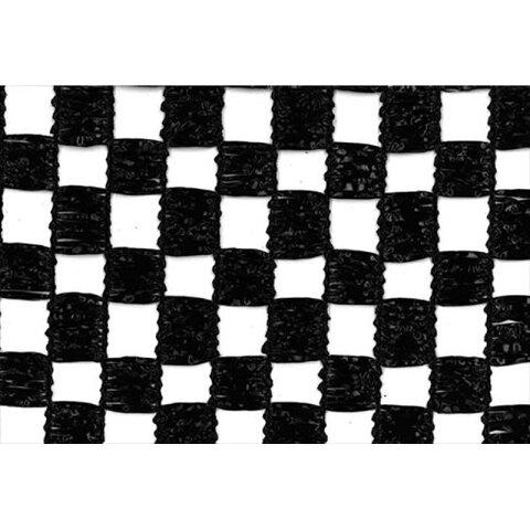 【1本】 2m × 50m 黒 遮光率50% ランランネット(市松模様) 遮光ネット BK-5050 寒冷紗 日本ワイドクロス タ種 【代引不可】
