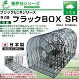 ブラックボックスSR R-09 ( ねずみ捕獲器 ネズミ捕り ネズミ駆除 ねずみ駆除 ネズミ退治 ) 栄工業