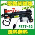 油圧式 電動薪割機 破砕力7t FS7T-52 フットスイッチ付