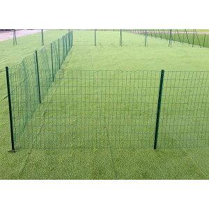 アニマルフェンス(シンセイ)1.0×20mフェンス(金網)と支柱11本のセット