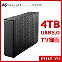【在庫目安:あり】【送料無料】エレコム(Seagate) HD-SG4.0U3BK-D 3.5インチ外付けハードディスクUSB3.0 4.0TB