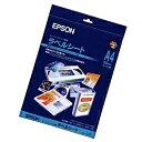 【送料無料】EPSON MJA4SP5 スーパーファイン専用ラベルシート (A4/ 10枚)【在庫目安:お取り寄せ】| ラベル シール シー...