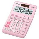 CASIO MW-100TC-PK-N W税率電卓 ミニジャストタイプ 10桁 ピンク【在庫目安:お取り寄せ】| 事務機 電卓 計算機 電子卓上計算機 小型..