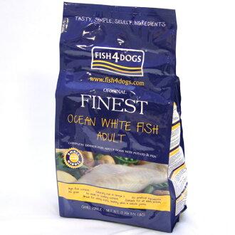 ◎ 생선 4 개 오션 화이트 피쉬 (이전의 대구 진주) 1.5 kg (컴플리트 푸드) ○