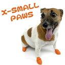◎【PAWZ DogBoots】パウズドッグブーツ 12個入り/XSサイズ(オレンジ)○