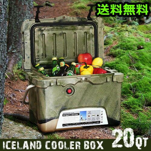 ICELAND クーラーボックス 20QT