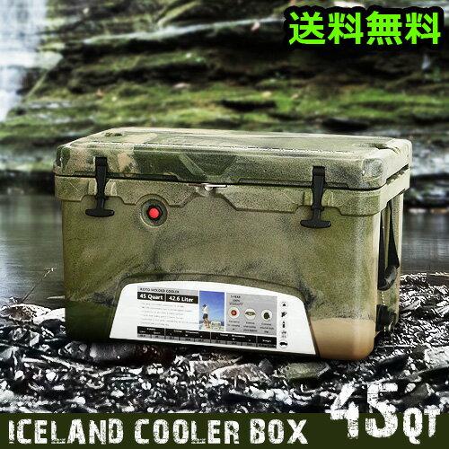 ICELAND クーラーボックス 45QT