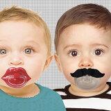 【到明天音乐16点】bitten Moustache Pacifier musutasshu pashifaia[胡须橡皮奶嘴]【橡皮奶嘴小宝宝 婴儿商品婴儿o[【あす楽16時まで】 bitten Moustache Pacifier ムスタッシュ パシファイアー [ ひげ おしゃぶり