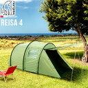 送料無料 正規品 NORDISK P10倍ノルディスク レイサ4 Nordisk Tents Reisa 4 グリーンインナーテント グランピング キャンプ アウトドア ブランド 雨よけ 北欧 大型 フェス キャンプ用品◇F