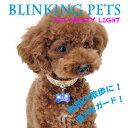 夜間のお散歩はこれで決まり! キュートなホネ型ライトが愛犬を安心ガード! 【メール便対応】