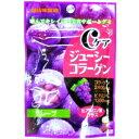 味覚糖40gCケアジューシーコラーゲン グレープ6入 [グミ]