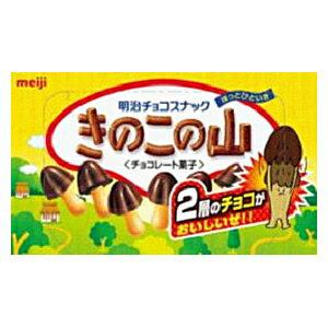 Meiji明治蘑菇山巧克力饼干74g*10盒