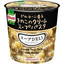 味の素 クノール スープDELIポルチーニ香るきのこのクリームスープパスタ40.7g×6個入 [スープデリ]