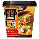 アサヒフードおどろき野菜 具だくさんスープ完熟トマトのミネストローネ19.4g×6個入