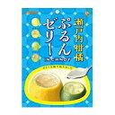 カンロ70g瀬戸内柑橘ぷるんゼリーインキャンディ 6袋入