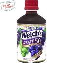 カルピス Welch'sウェルチグレープ50280mlペットボトル 24本入