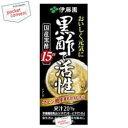 伊藤園黒酢で活性200ml紙パック 24本入