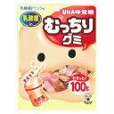 味覚糖100gむっちりグミ 乳酸菌ドリンク6入