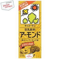 キッコーマン飲料豆乳飲料 アーモンド200ml紙パック 18本入
